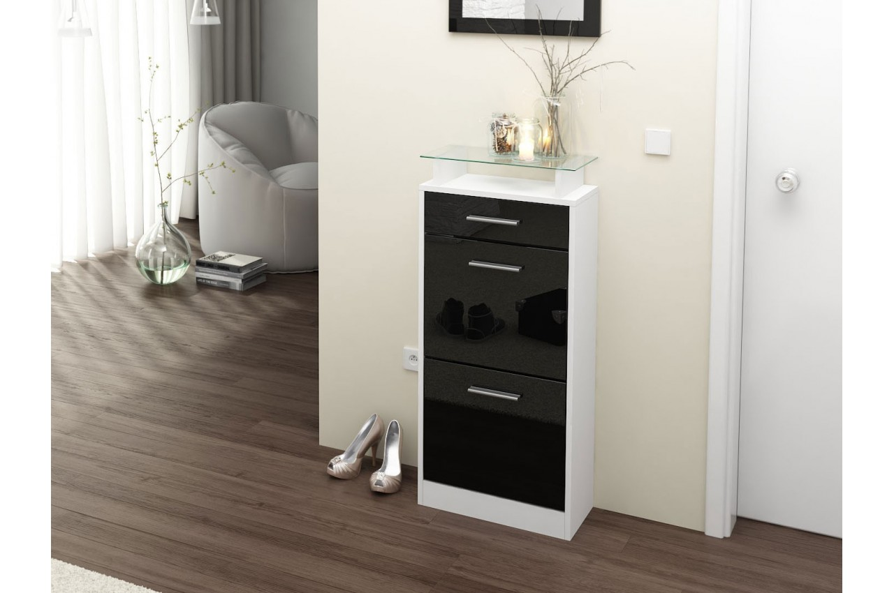 meuble chaussures design pas cher 10 id es de. Black Bedroom Furniture Sets. Home Design Ideas