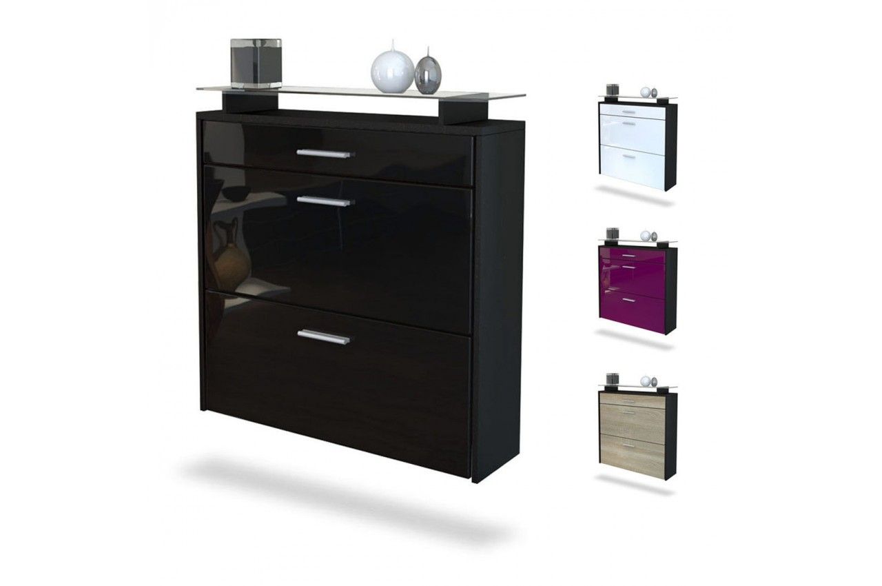 meuble chaussures design pas cher 12 id es de. Black Bedroom Furniture Sets. Home Design Ideas