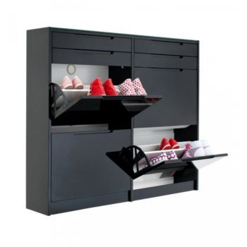 meuble rangement chaussures fly id es de d coration. Black Bedroom Furniture Sets. Home Design Ideas