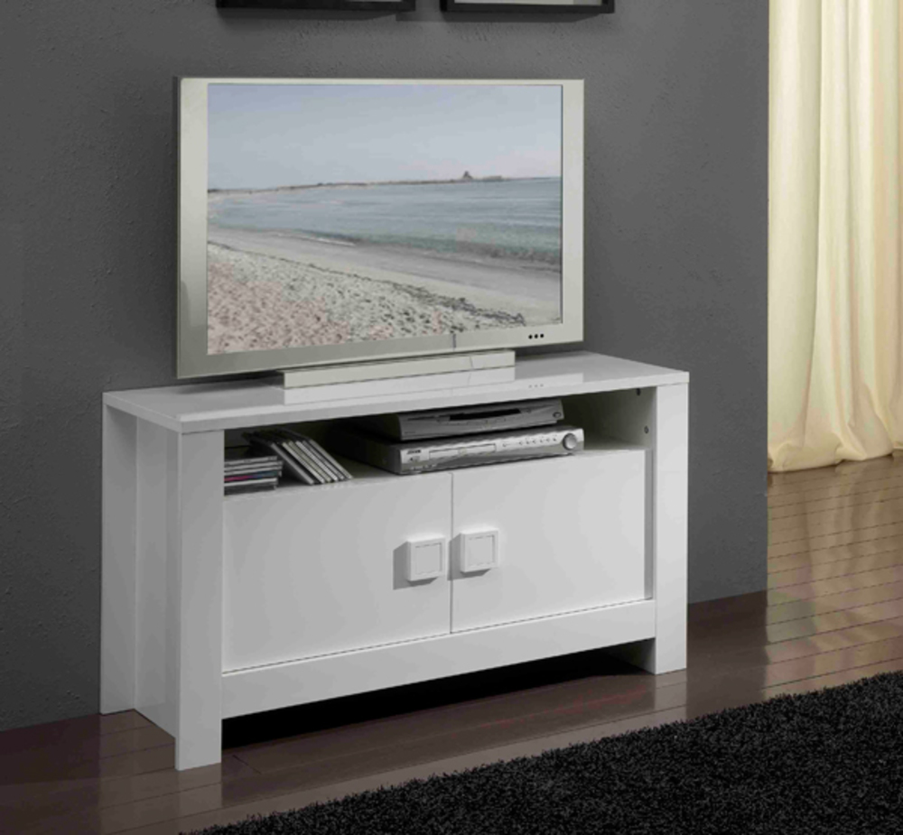 meuble tele blanc et gris 19 id es de d coration. Black Bedroom Furniture Sets. Home Design Ideas