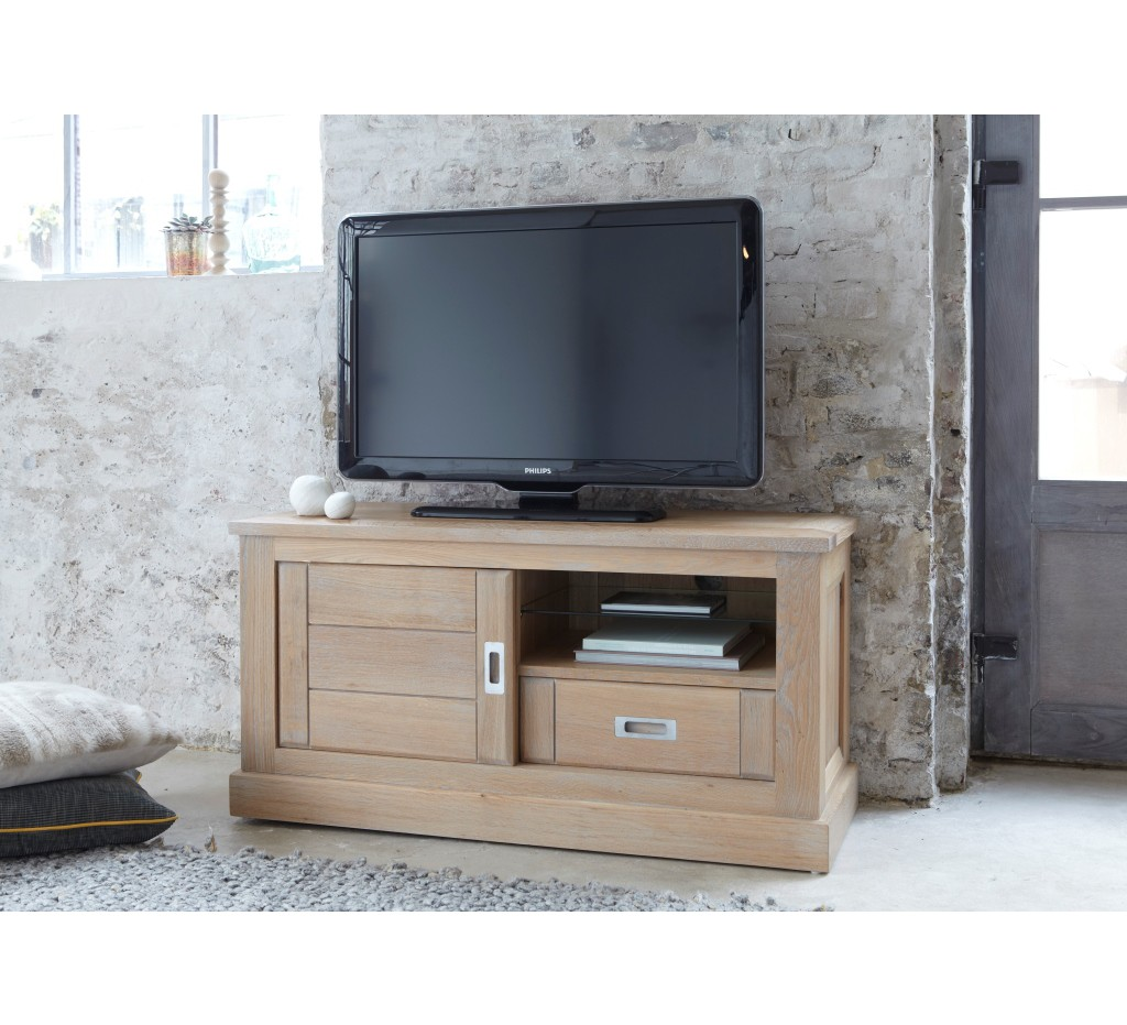 meuble tele en chene 17 id es de d coration int rieure french decor. Black Bedroom Furniture Sets. Home Design Ideas