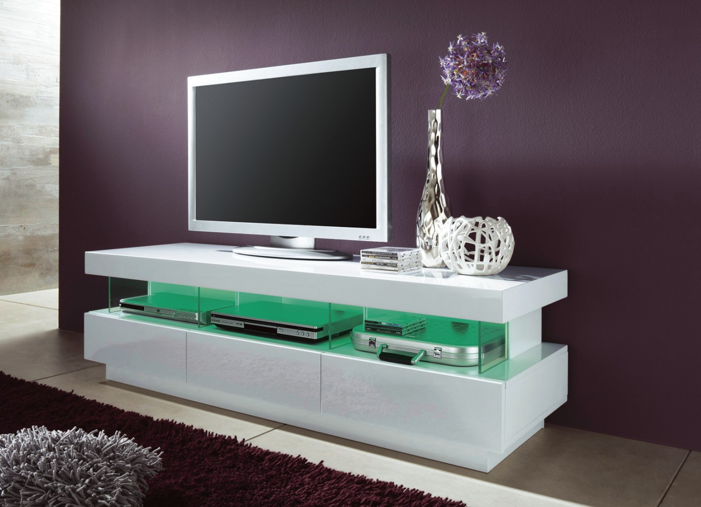 meuble tele laque blanc 15 id es de d coration int rieure french decor. Black Bedroom Furniture Sets. Home Design Ideas