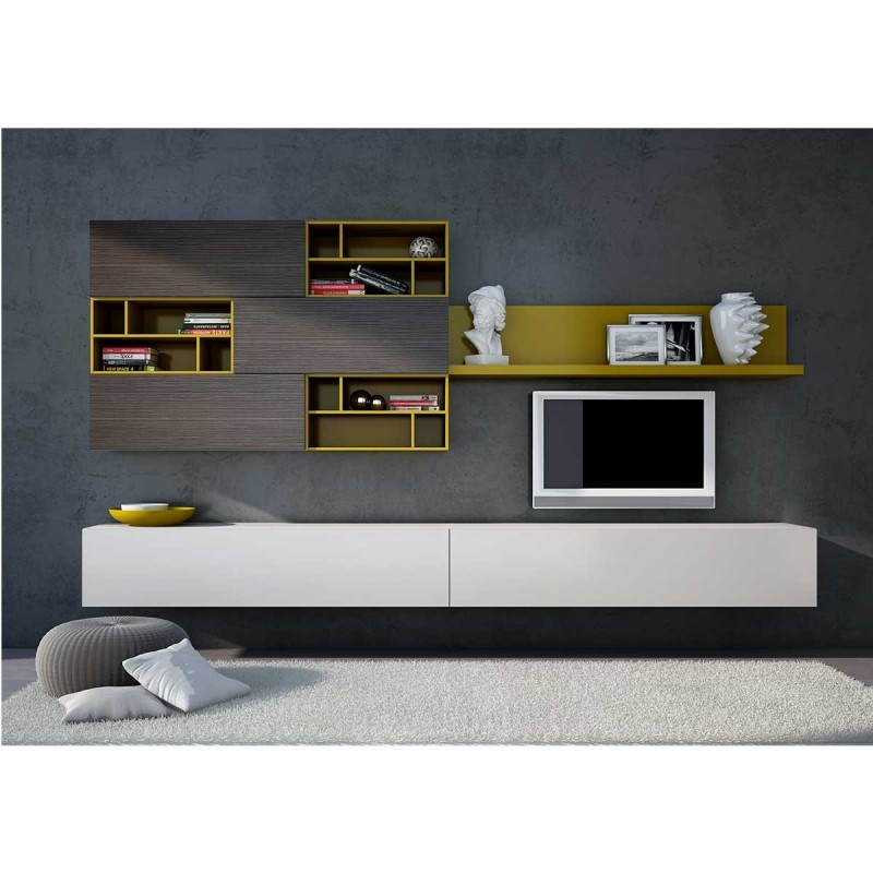 meuble tv a suspendre id es de d coration int rieure french decor. Black Bedroom Furniture Sets. Home Design Ideas