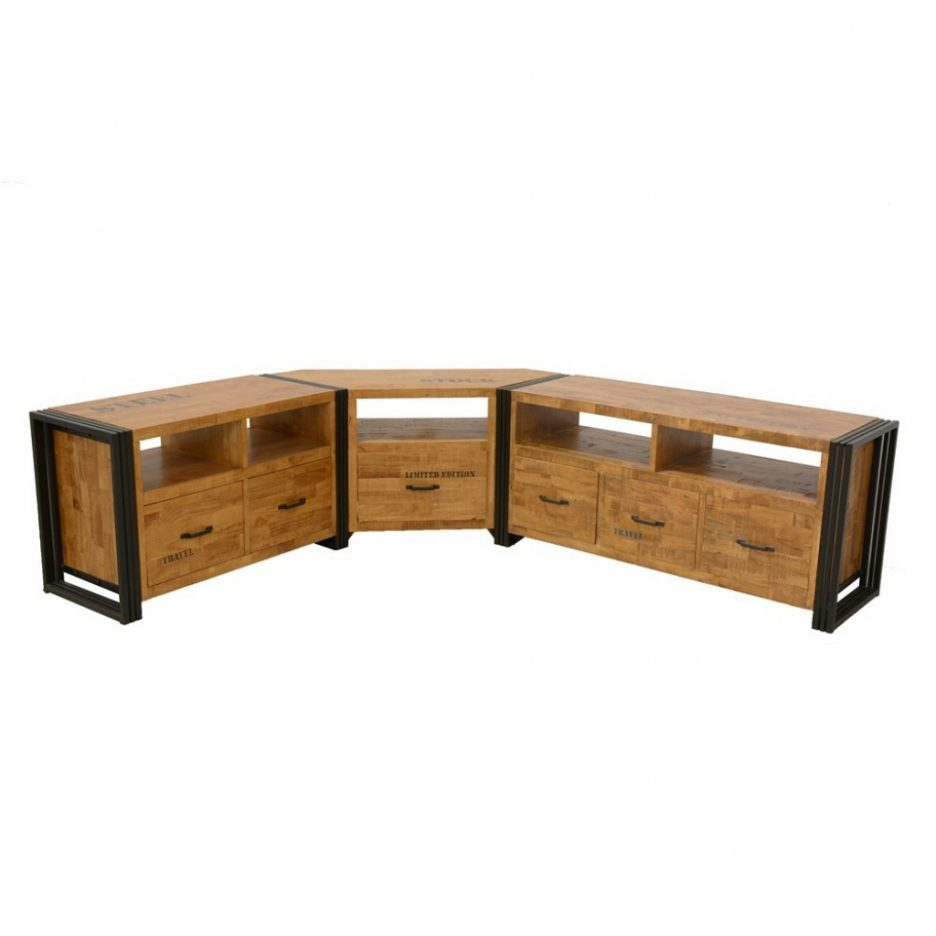 Meuble Tv Angle Moderne Id Es De D Coration Int Rieure French  # Meuble D'Angle Tv Contemporain