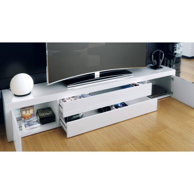 Meuble tv bas et long 10 id es de d coration int rieure for Meuble tv bas long