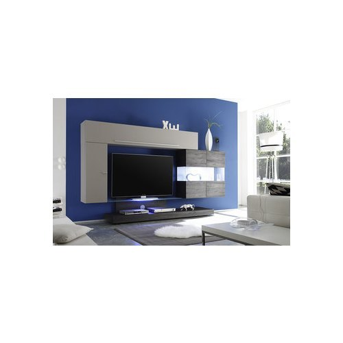 Meuble tv blanc laqu 120 cm 20 id es de d coration int rieure french decor - Meuble tv blanc laque 120 cm ...
