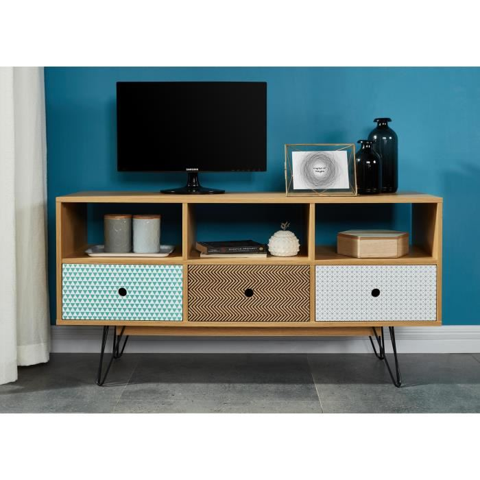 meuble tv blanc laqu 120 cm id es de d coration. Black Bedroom Furniture Sets. Home Design Ideas