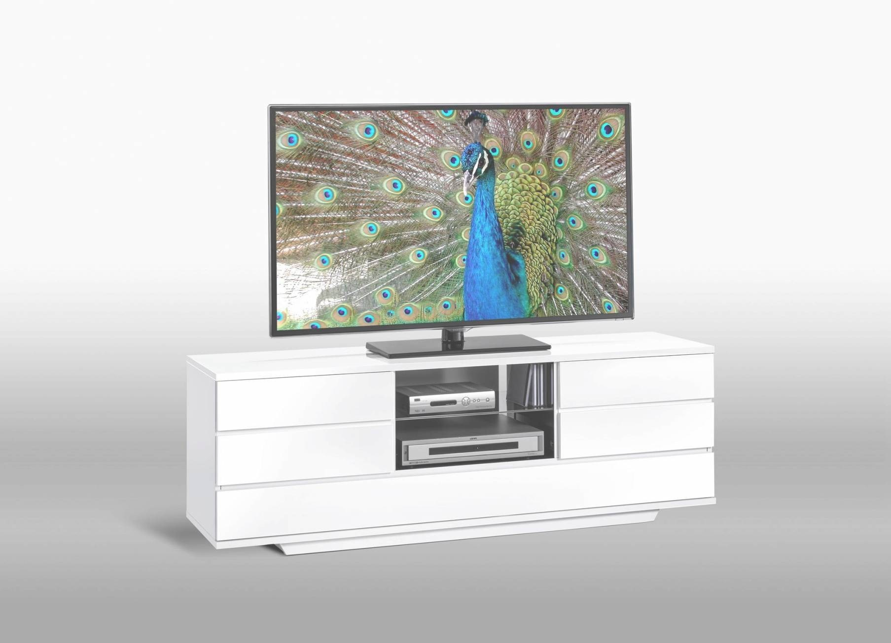 Meuble Tele Bas Blanc Meuble Tv Design Suspendu Larmo New Blanc  # Adhara Meuble Tv