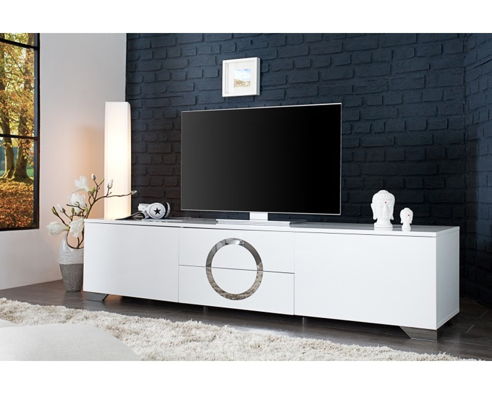 meuble tv design noir et blanc 2 id es de d coration int rieure french decor. Black Bedroom Furniture Sets. Home Design Ideas