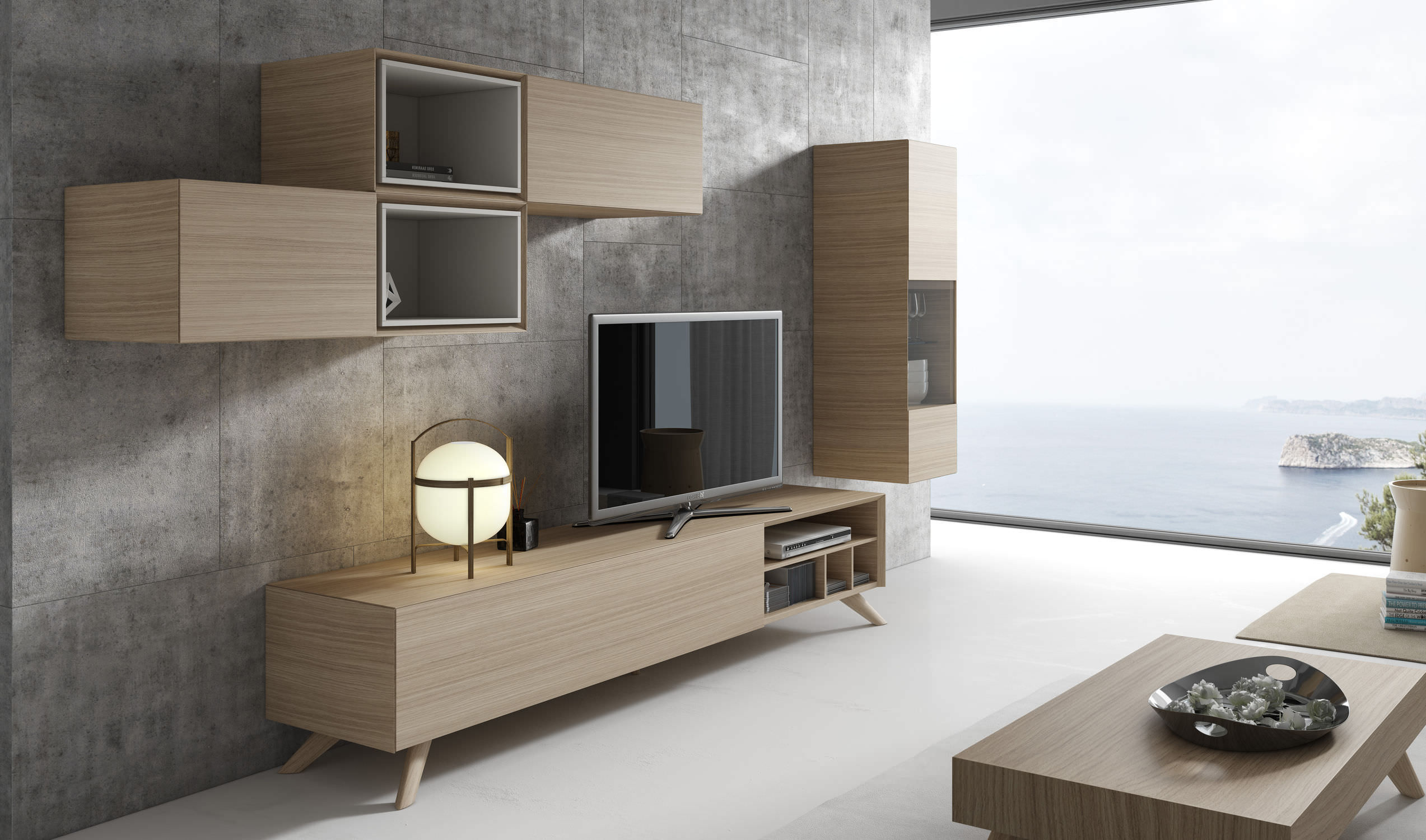 meuble tv modulable id es de d coration int rieure french decor. Black Bedroom Furniture Sets. Home Design Ideas
