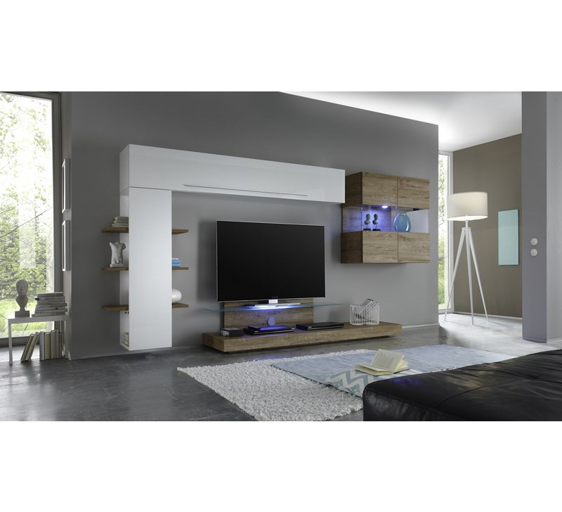 meuble tv suspendu led id es de d coration int rieure french decor. Black Bedroom Furniture Sets. Home Design Ideas