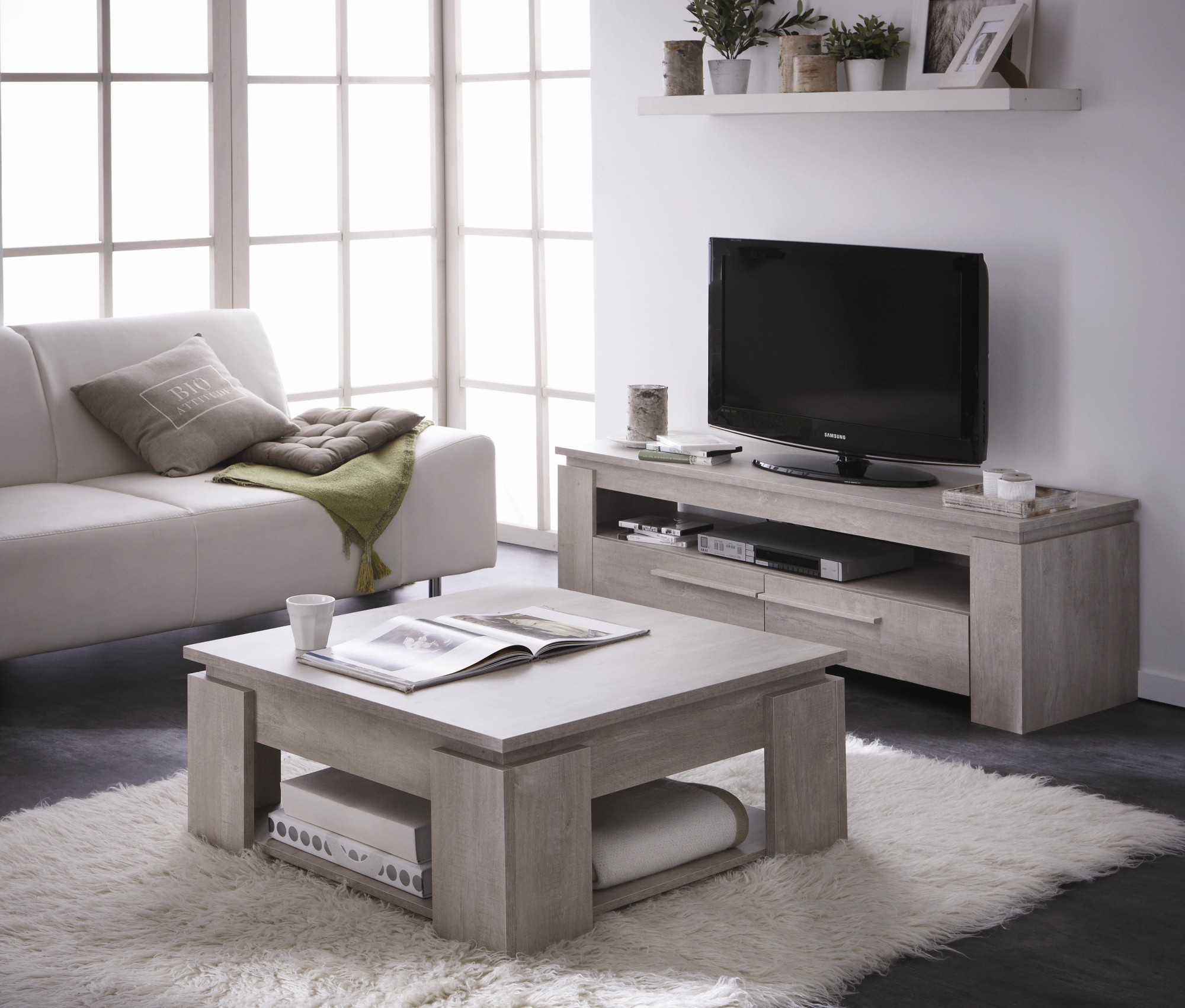 Meuble Tv Taupe Id Es De D Coration Int Rieure French Decor # Meuble Tv Gris Taupe