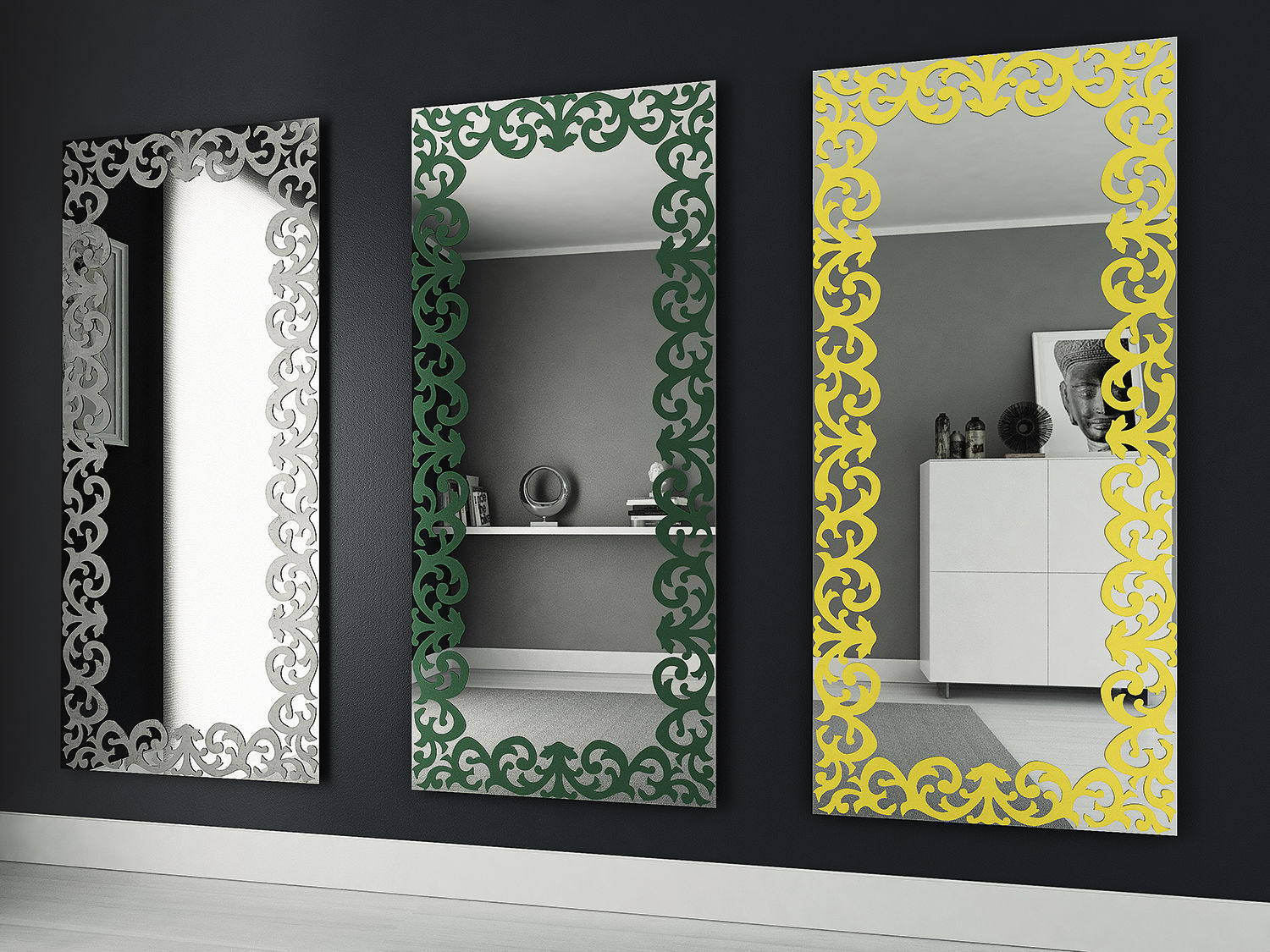 miroir argent baroque 19 id es de d coration int rieure french decor. Black Bedroom Furniture Sets. Home Design Ideas