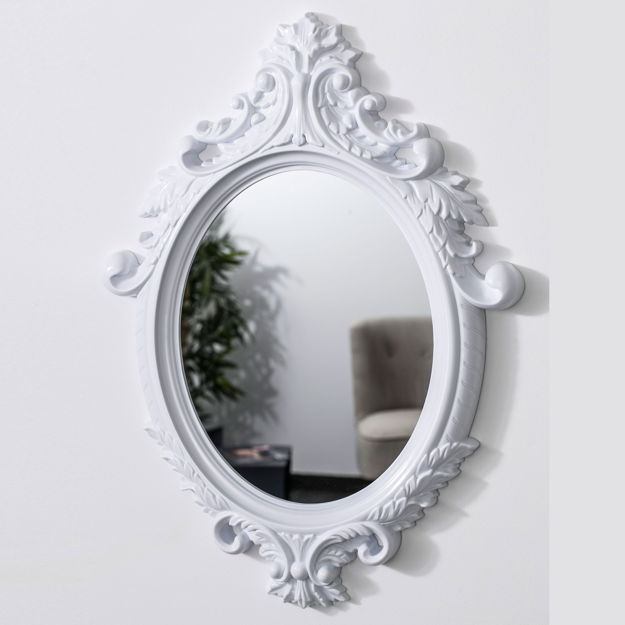 Miroir baroque ovale id es de d coration int rieure for Miroir in french