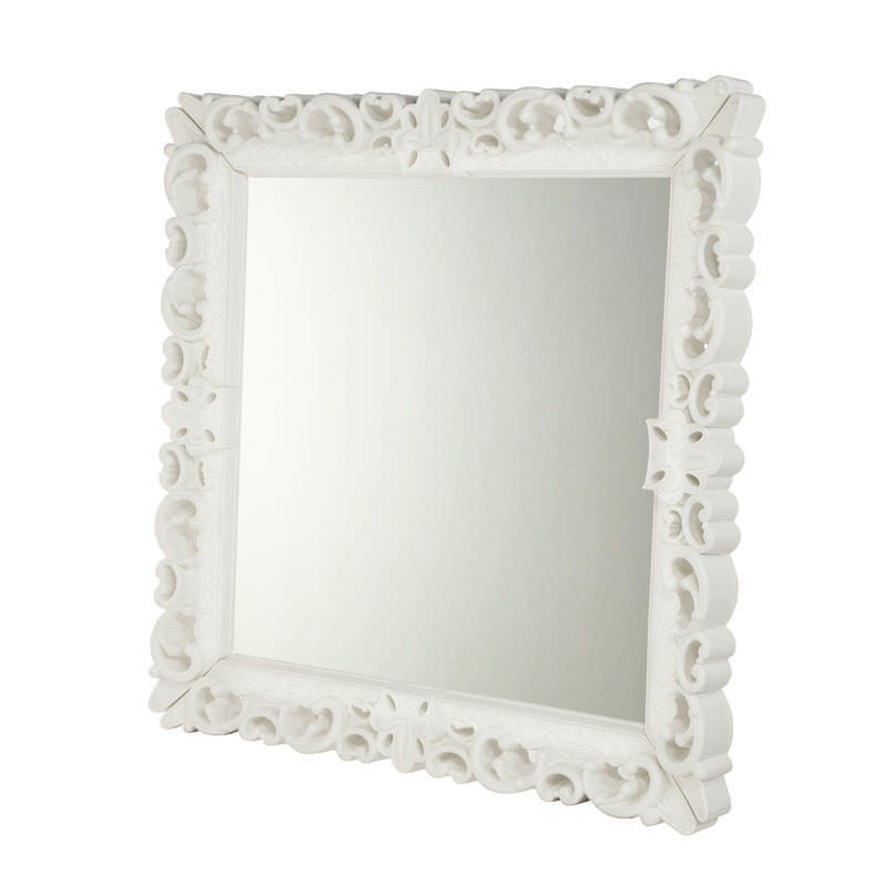 Miroir blanc baroque 11 id es de d coration int rieure for Grand miroir blanc baroque