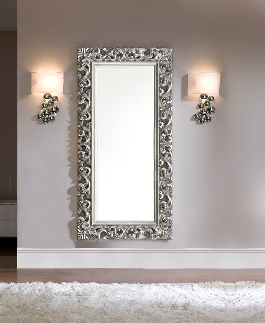 Miroir long blanc id es de d coration int rieure for Miroir in french