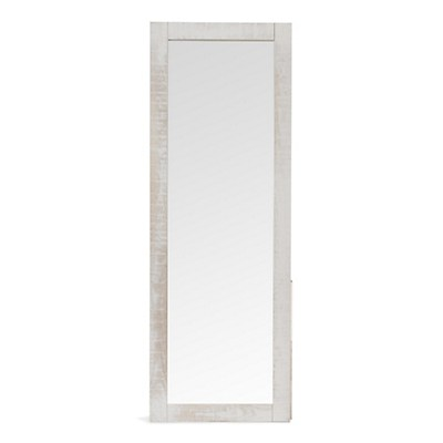 Miroir long blanc 19 id es de d coration int rieure for Miroir blanc