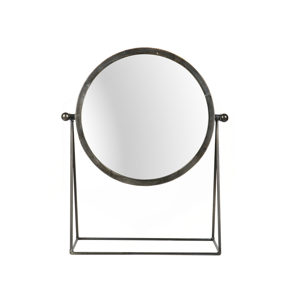 Miroir metal industriel id es de d coration int rieure for Miroir industriel