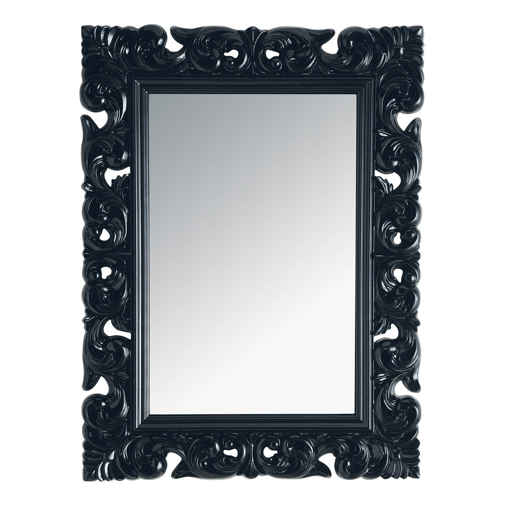 miroir noir baroque id es de d coration int rieure french decor. Black Bedroom Furniture Sets. Home Design Ideas