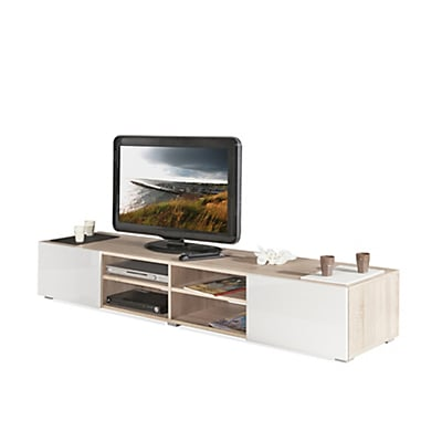 petit meuble tv blanc 18 id es de d coration int rieure french decor. Black Bedroom Furniture Sets. Home Design Ideas