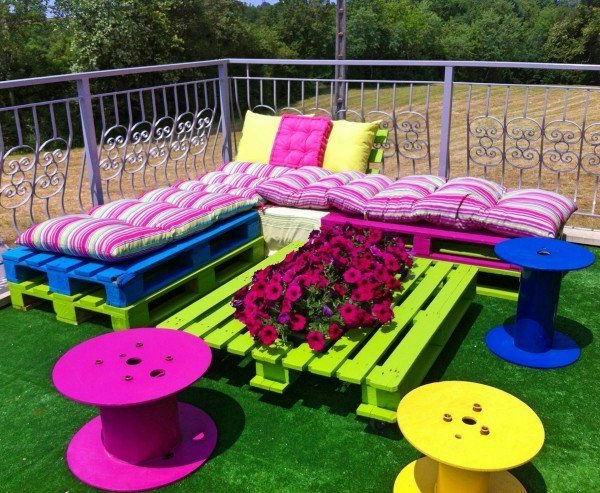 Emejing Idee Couleur Table De Jardin Images - Design Trends 2017 ...
