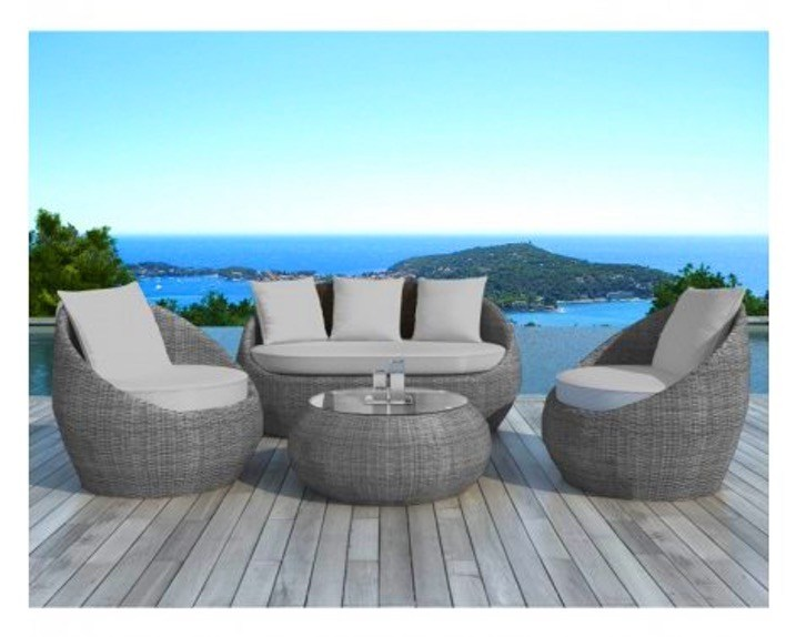 emejing salon de jardin monaco ensemble lounge. Black Bedroom Furniture Sets. Home Design Ideas