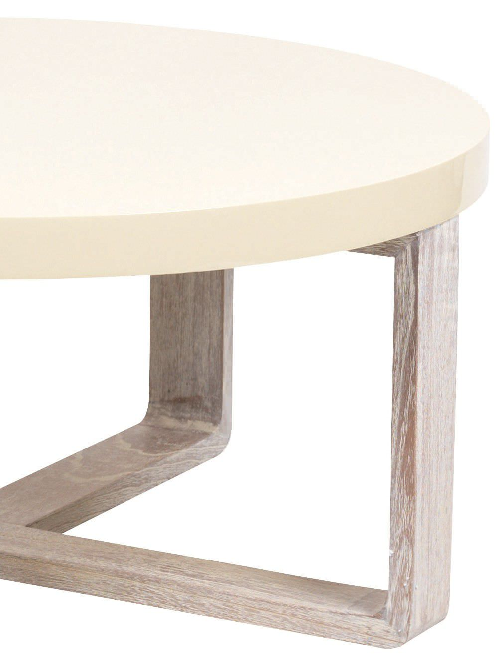 Table basse blanche pied bois 14 id es de d coration int rieure french decor Table basse planche bois