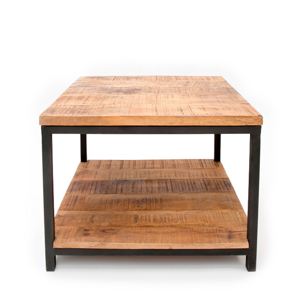 table basse carree bois