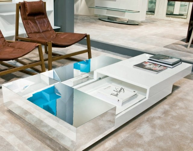 table basse contemporaine design