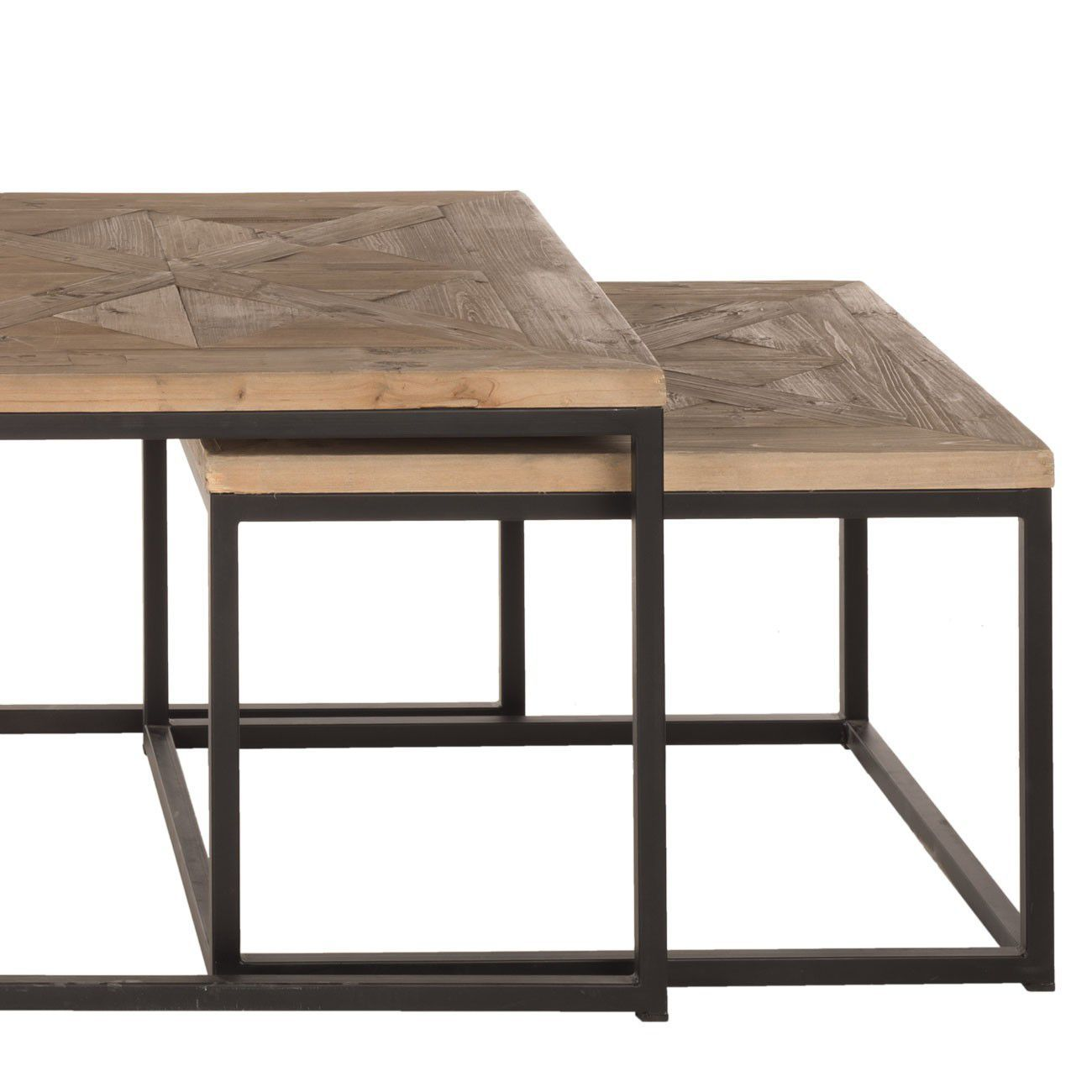 table basse en fer et bois id es de d coration. Black Bedroom Furniture Sets. Home Design Ideas