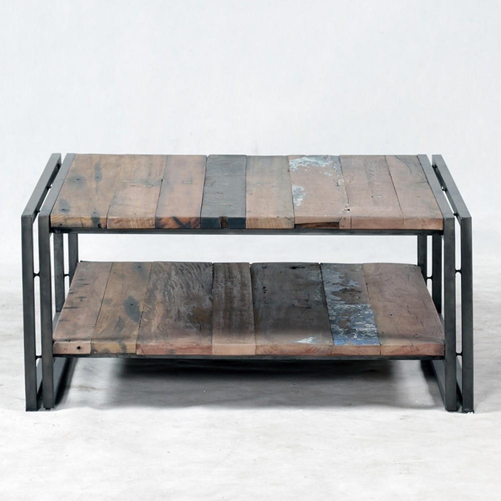 Table basse maison id es de d coration int rieure - Table basse fait maison ...