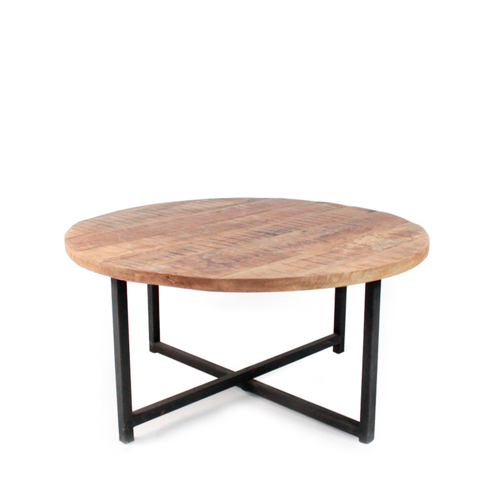 Table basse metal ronde id es de d coration int rieure - Table basse metal ronde ...