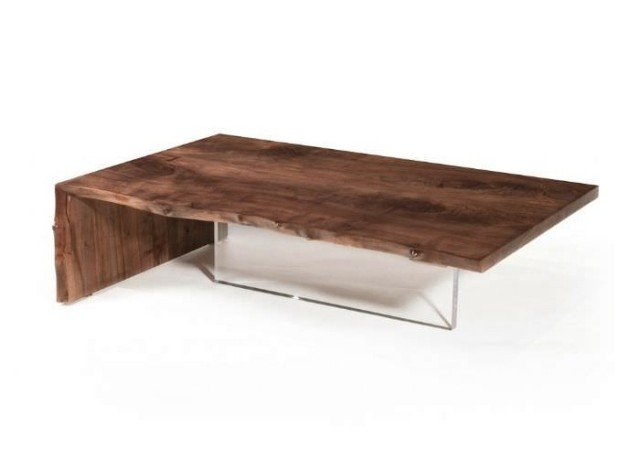table basse plateau verre pied bois id es de d coration. Black Bedroom Furniture Sets. Home Design Ideas