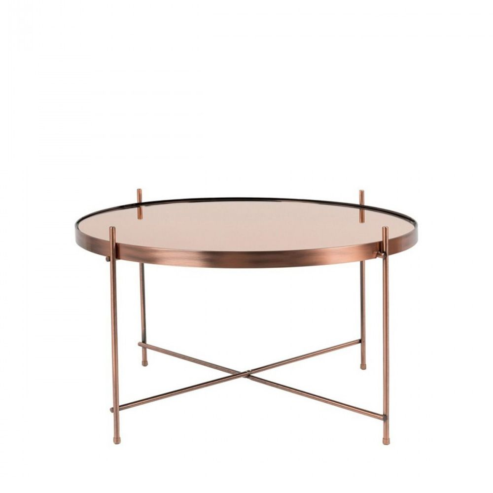 Table basse ronde en verre design 16 id es de d coration for Table basse design ronde
