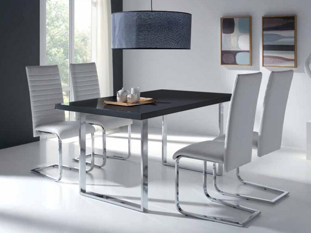 Table et chaise design id es de d coration int rieure for Table avec chaise encastrable conforama