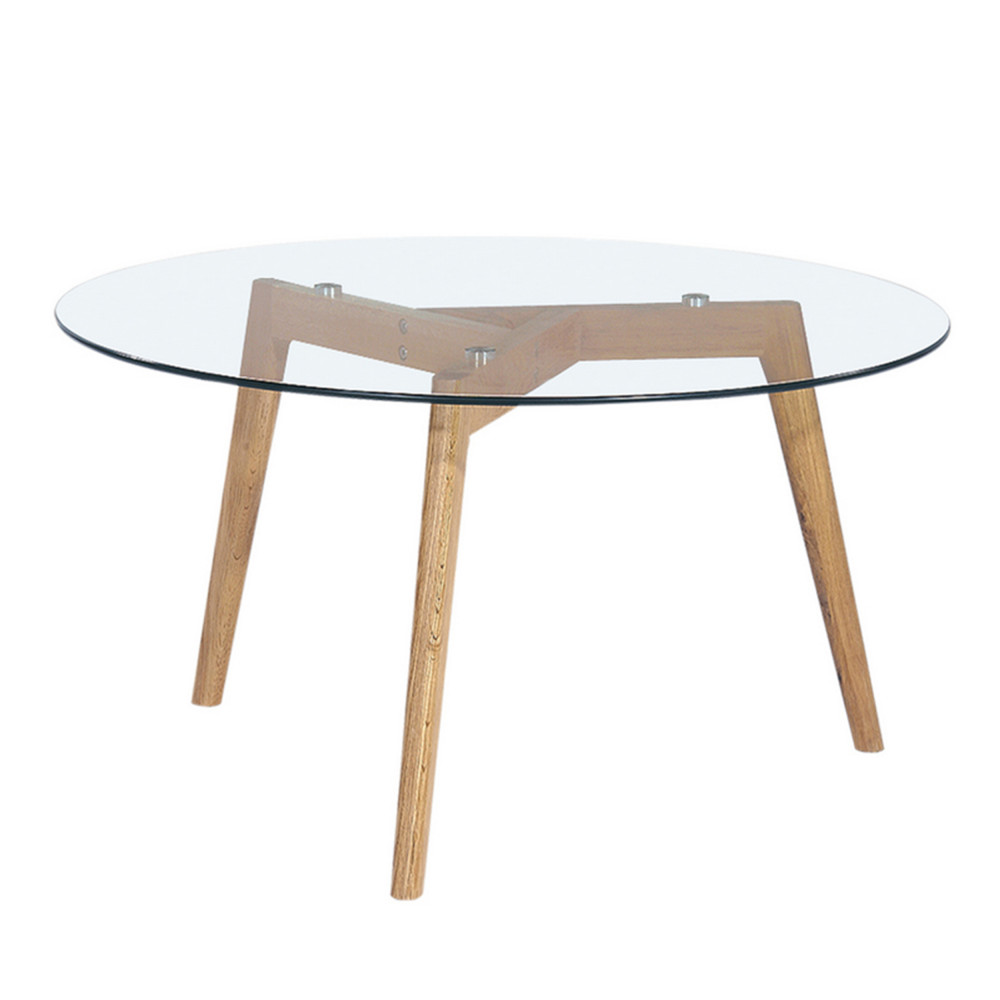Table salon verre et bois id es de d coration int rieure for Table de salon bois et verre