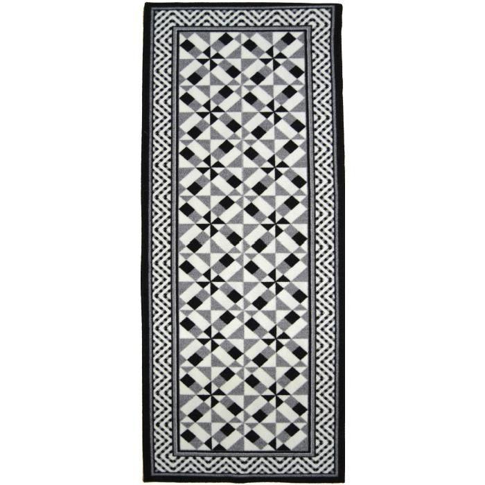tapis couloir noir et blanc id es de d coration int rieure french decor. Black Bedroom Furniture Sets. Home Design Ideas