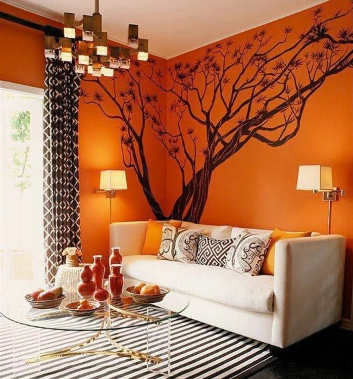 tapis de salon orange 12 id es de d coration int rieure french decor. Black Bedroom Furniture Sets. Home Design Ideas