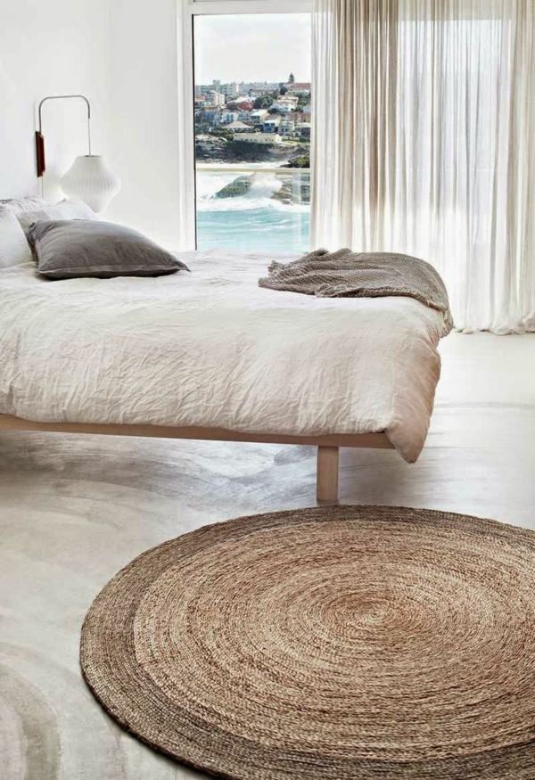 Tapis Rond Entree Idees De Decoration Interieure French Decor