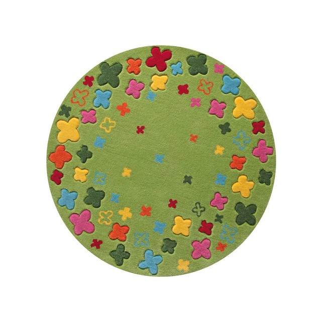 tapis rond multicolore id es de d coration int rieure french decor