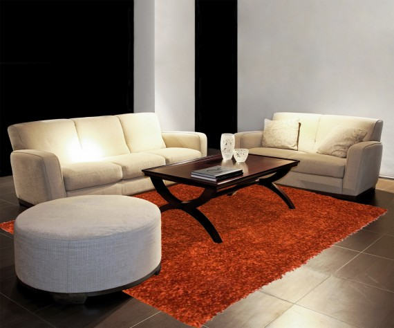tapis salon orange 1 id es de d coration int rieure french decor. Black Bedroom Furniture Sets. Home Design Ideas