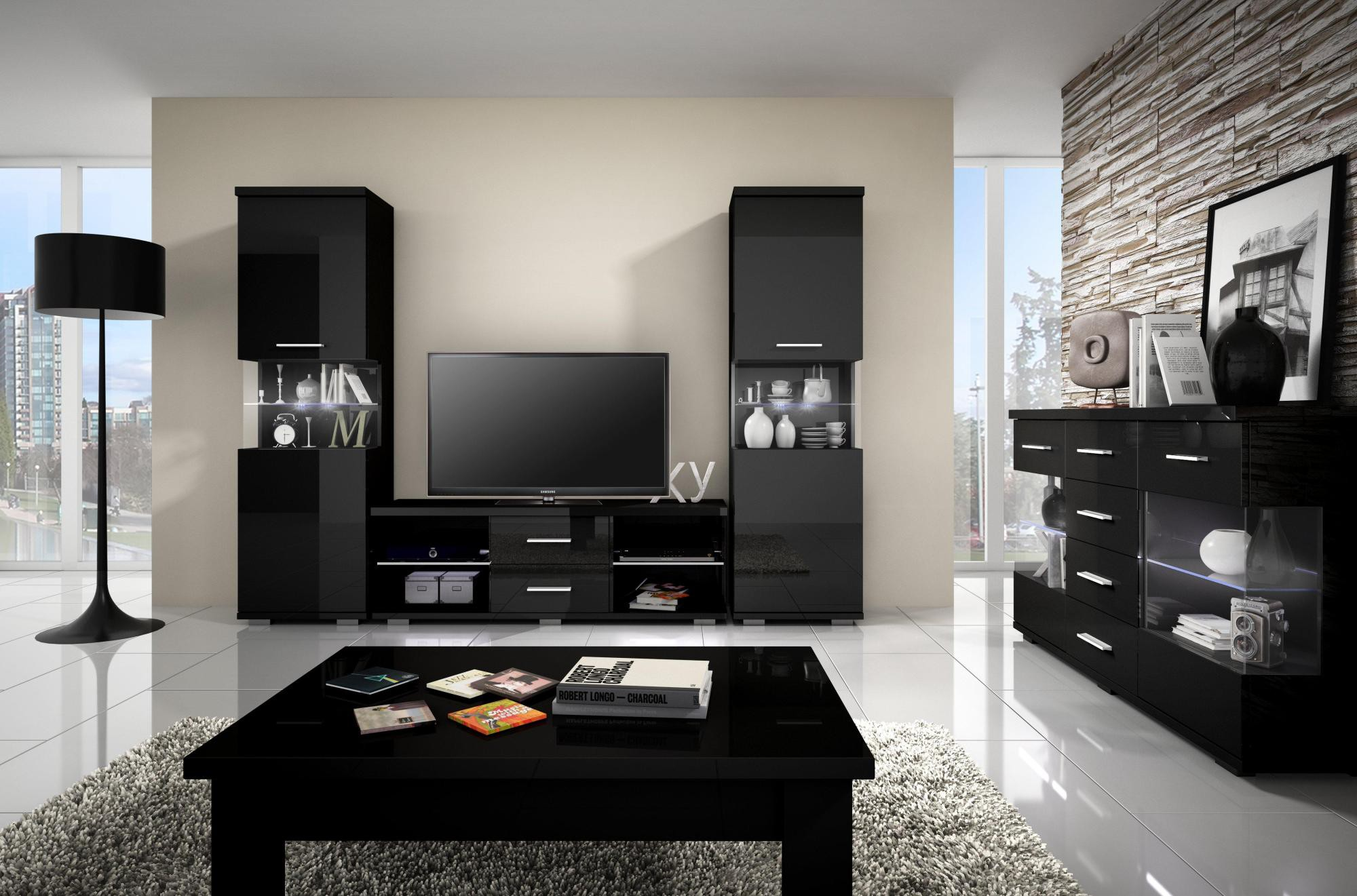 Armoire television salon id es de d coration int rieure for Des idees de decoration interieure