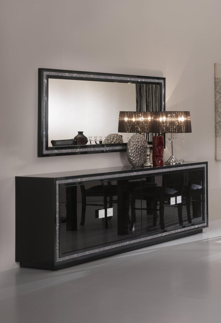 Buffet miroir moderne id es de d coration int rieure for Miroir moderne decoration