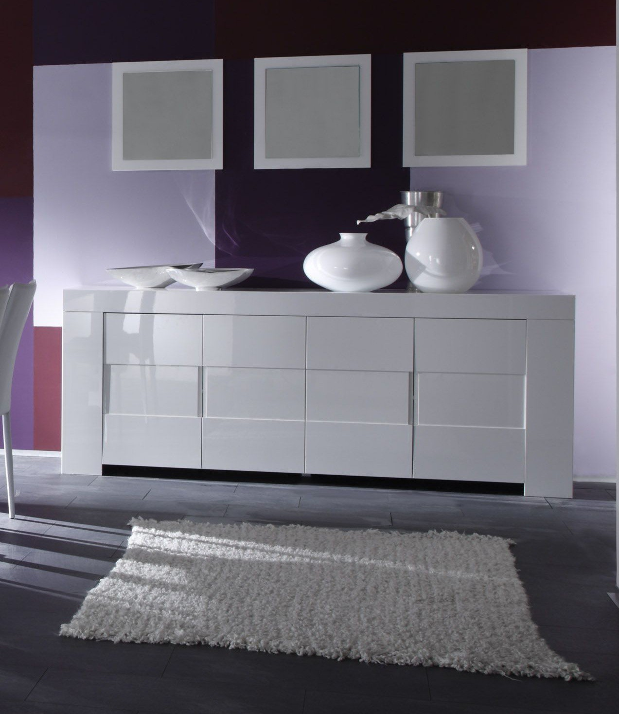 buffet miroir moderne 20 id es de d coration int rieure. Black Bedroom Furniture Sets. Home Design Ideas