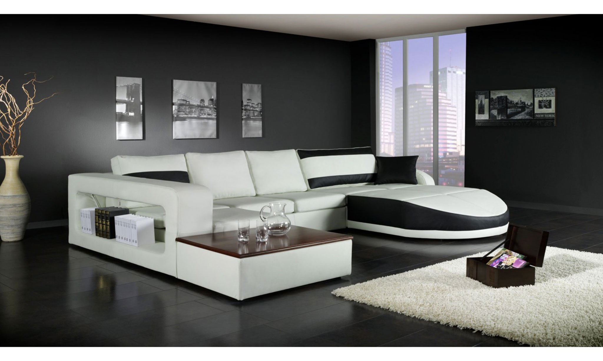 canap d angle moderne pas cher id es de d coration. Black Bedroom Furniture Sets. Home Design Ideas