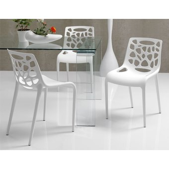 Chaise Blanche Design Salle A Manger Idees De Decoration