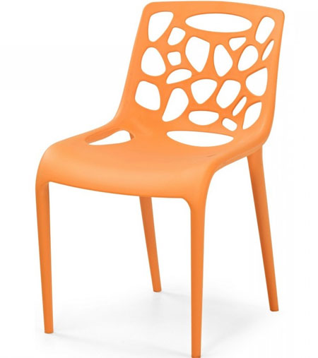 Chaise cuisine plastique design id es de d coration for Chaise plastique design