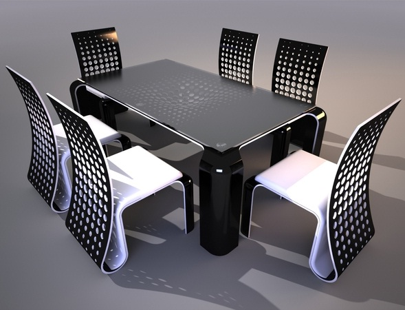 chaise et table design - Table Et Chaise Design