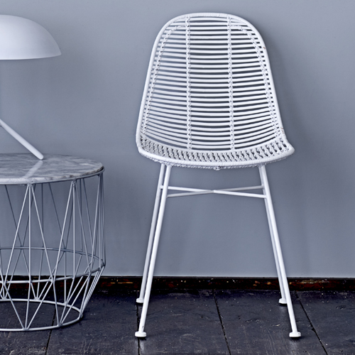 Chaise Pied Blanc