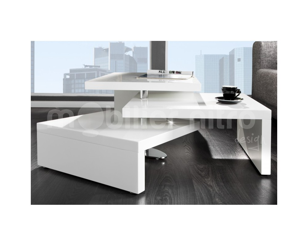 Chaise pour table blanche laqu e id es de d coration for Chaise pour table blanche